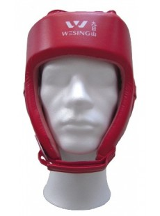 Casque de protection simili cuir