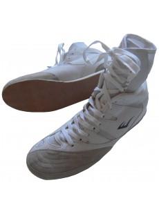 "Chaussures de boxe Everlast ""Hi top"" blanches"