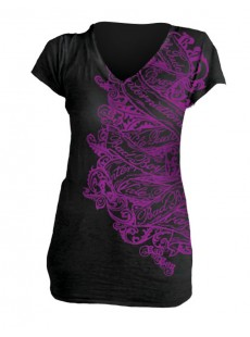 "T-shirt Bad Boy ""Scroll Banner"" femme"