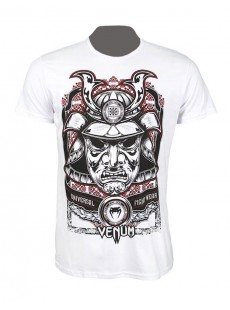 """T-shirt Venum """"Samouraï Mask"""" Creative Line blanc"""