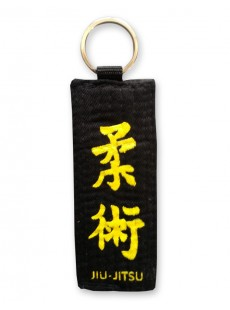 Porte-clés ceinture noire Jiu-jitsu