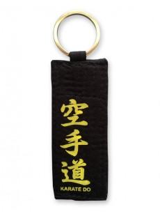 Porte clés ceinture noire karaté