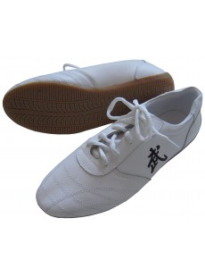 "Chaussures ""Wu"" blanches"