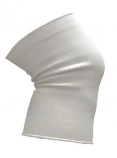 Genouillères en coton élastique