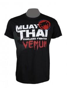 """T-shirt Venum """"Bangkok Fury"""" noir"""