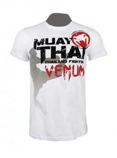 """T-shirt Venum """"Bangkok Fury"""" blanc"""