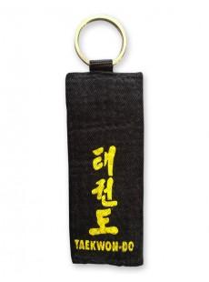 Porte-clés ceinture noire Taekwondo